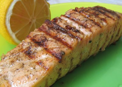 gilled salmon